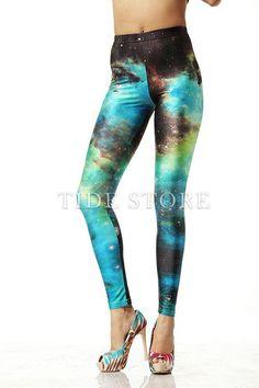 Fashion Women Galaxy Leggings
