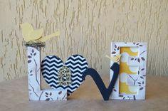 Palavra LOVE em uma composição de PRETO E AMARELO.  Ideal para decorar mesa de casamento, aniversário, chá de panela, chá de bebê, ensaio fotográfico e muito mais.  Decore quartos infantis, aquele cantinho super legal de casa ou mesmo presenteie.  Fazemos em outras cores e estampas.  http://www.elo7.com.br/todacordecor/mostruario R$ 63,00