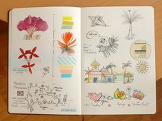 sketches For journal or scrapbook