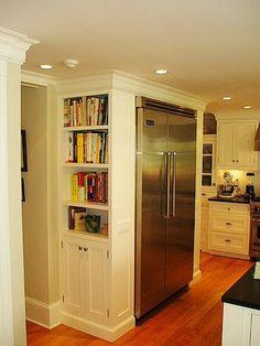 idea for building around the fridge