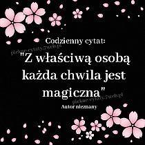 """""""Z właściwą osobą każda chwila jest magiczna"""" ~ Autor nieznany Motto, Love Quotes, Poetry, Wisdom, Thoughts, Words, Author, Texts, Quotes"""