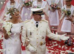 Royal Pregnant Bride | ... , Prince Albert II Marries Charlene Wittstock (Monaco Royal Wedding