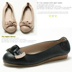 MODELSIS Bow-Accent Flats PRICE  $72.00   #flats #fashion #shoe