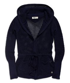 Look at this #zulilyfind! Marina Mesh Hooded Sweater by TIMEOUT #zulilyfinds