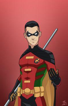 Tim Drake - El tercer Robin, en su momento uno de los jóvenes titanes