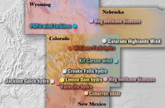 a broad range of renewable projects Kit Carson, Renewable Energy, Nebraska, New Mexico, Wyoming, Wind Turbine, Solar, Range, Projects
