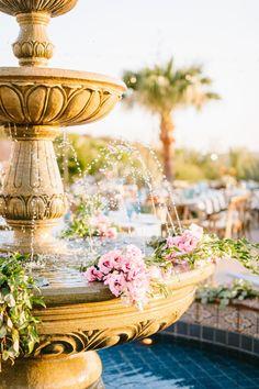 Diy Garden Fountains, Wedding Ceremony Flowers, Wedding Receptions, Wedding Stage Decorations, All I Ever Wanted, Outdoor Ceremony, Ranch, Fun Stuff, Random Stuff