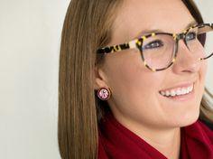 Josie Earrings by KeirseyKreations2013 on Etsy