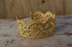 gold lace cuff bracelet gold plated rustic bronze by MyElesi Rustic Plates, Lace Cuffs, Gold Lace, Bracelet Making, Metal Jewelry, Antique Gold, Silver Earrings, Cuff Bracelets, Goodies