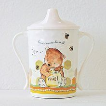 Baby Cie Dani Doux comme du Miel Sippy Cup - Sweet as Honey. Available at OurPamperedHome.com