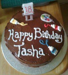Birthday cake for an artist