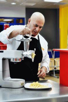 Giancarlo Russo zaprezentował jak przygotować perfekcyjny domowy makaron. / photo: http://kulinarnapiniata.pl