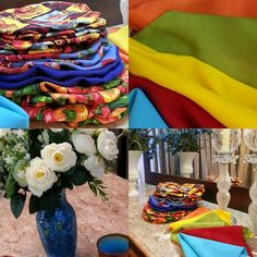 A vida não é sempre feita de cores, mas podemos colori-la...  Idealizamos e produzimos capa para sousplat,  guardanapo, porta guardanapo, trilhos de mesa, toalhas de mesa, arranjo floral,  capa para almofada, jogo americano, cestinhas, cortinas,  capa para puff