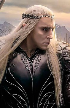 #LeePace as #Thanduil in The Hobbit: The Battle of the Five Armies via maivolchica on Tumblr.