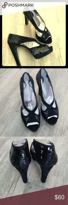 Selling this Nine West High Heels on Poshmark! My username is: cheeseshop. #shopmycloset #poshmark #fashion #shopping #style #forsale #Nine West #Shoes