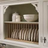 Country Kitchen Wall Unit With Plate Rack ...