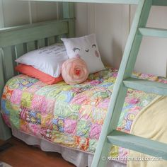 Beautiful throw pillows mixed with my patch work quilt.