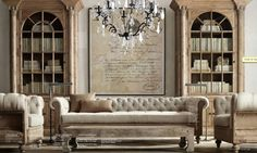 light leather chesterfield couch