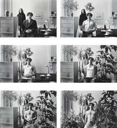 Paradise regained, by Duane Michals 1968. Sequence, Repetition and Narrative | Photography Blog