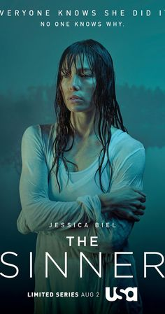 The Sinner - Created by Derek Simonds.  With Jessica Biel, Bill Pullman, Christopher Abbott, Patti D'Arbanville. A young mother tries to find out what's causing her to have violent tendencies.