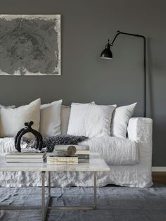These are the ideas for living room paint colors, find your own personality color for the living room. The living room is not just personal space. Room Paint Colors, Paint Colors For Living Room, Grey Interior Paint, Interior Design, Purple Interior, Interior Painting, Living Room Designs, Living Room Decor, Living Rooms