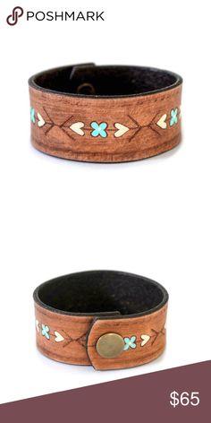 Handmade Boho Leather Cuff Bracelet Bracelet Jewelry