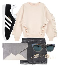 """Untitled #812"" by cece-cherry ❤ liked on Polyvore featuring STELLA McCARTNEY, MANGO, adidas, Christian Dior and GUESS"