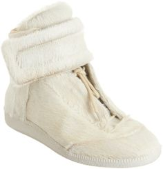 Maison Martin Margiela Calf Hair High Top - Men s #Shoes, high top, white.
