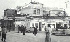 Heraklion - Πλατεία Λιονταριών (1960) Heraklion, Old Maps, Crete, Continents, Vintage Photos, Medieval, The Past, Louvre, Street View