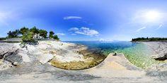 Beach Grgina - Sutivan - Island Brač - Dalmatia - Split - Croatia
