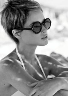 Short haired brides RULE!!
