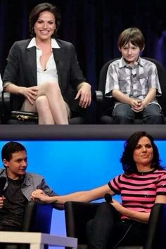 I don't even know what to do with this--Lana Parrilla and Jared Gilmore
