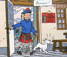 The Black Island Haddock Tintin, Under The Kilt, Herge Tintin, Wire Fox Terrier, Fox Terriers, Fabulous Fox, Lucky Luke, Ligne Claire, Gaston