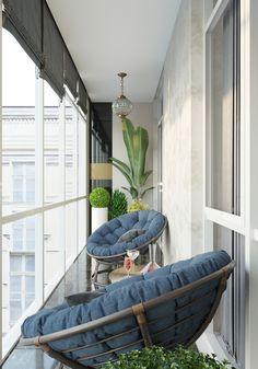 Ideas art deco interior apartment home Interior, Balcony Furniture, House Interior, Apartment Decor, Interior Balcony, Home Interior Design, Interior Design, Interior Deco, Apartment Balcony Decorating