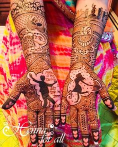 Trending mehendi designs for brides | Bridal henna inspiration | Bollywood inspired mehndi design | Shahrukh Khan | Love story henna | Elephant motifs | girl dancing in rain motif | Credits: Henna for all | Every Indian bride's Fav. Wedding E-magazine to read. Here for any marriage advice you need | www.wittyvows.com shares things no one tells brides, covers real weddings, ideas, inspirations, design trends and the right vendors, candid photographers etc.