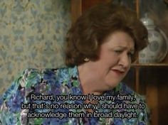BBC Classic: Keeping Up Appearances. This show was funny shit. British Tv Comedies, British Comedy, English Comedy, I Love To Laugh, Make Me Smile, Keeping Up Appearances, British Humor, Comedy Tv, Love My Family