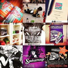 Happy New Years! What a year it's been! #2015bestnine #myboutbook #rollerderby