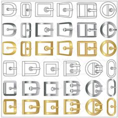 {Illustrator Stuff} DigiPixie Belt Buckle Trims