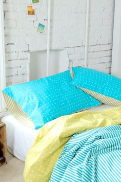 Assembly Home Tiny Stripe Pillowcase - Set Of 2 #urbanoutfitters