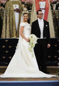 La boda de Victoria de Suecia y Daniel Westling - Las 10 Bodas Reales más bonitas