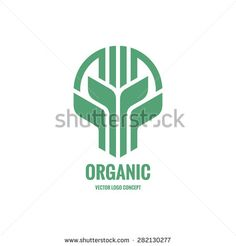 Sprouts and leaves - vector logo concept illustration. Traditional Greenhouses, P Logo Design, Agriculture Logo, City Logo, Farm Logo, Organic Logo, Mini Greenhouse, Leaves Vector, Logo Concept