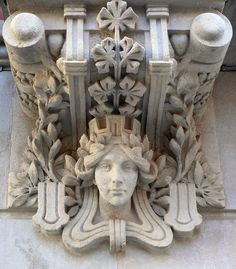 Barcelona architectural detail