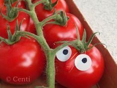 Centi bastelt: Torge Tomate