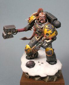 Varek Ironhammer  Spacewolf Wolf Priest