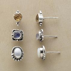 DAILY POSTS EARRING TRIO - 1