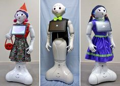 Pepper robot: Now you can dress up your companion to make it look more like a human Personal robot companion Pepper can now be dressed up in custom outfits, accessories and wigs.   Pepper robot couture now available for sale [The Future of Robots: http://futuristicnews.com/category/future-robots/ Pepper Robot: http://futuristicnews.com/is-this-the-first-robot-to-understand-emotions/]