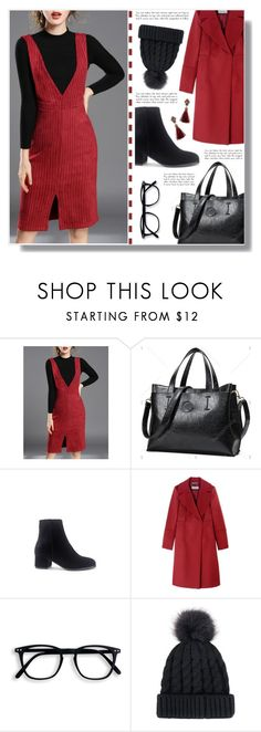 """Twinkledeals 48"" by becky12 ❤ liked on Polyvore featuring Sportmax, tote, beanies, suspender and twinkledeals"