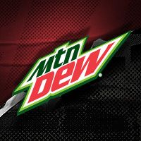 MountainDew.com - example of responsive design for mobile and emphasis on visual communication.