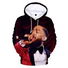 Nipsey Hussle Hoodie Sweatshirts Plus Size Streetwear Tops Spring Hoodies Men Women Hooded Pullover Tracksuit Rapper Hoodies, Popular Rappers, Hip Hop Outfits, American Rappers, Mens Sweatshirts, Fashion Sweatshirts, Streetwear Fashion, Spring, Men Sweater