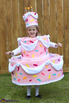 Cake Costume - Halloween Costume Contest